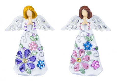 Floral Angels - $18.00 Each