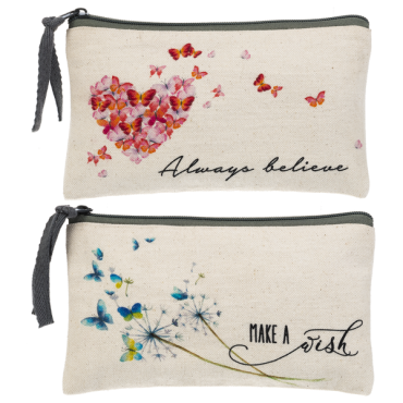 Message Zipper Case - $12.00 Each